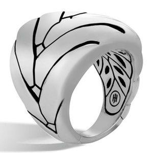 JOHN HARDY Modern Chain 925 St Silver Fashion RING